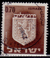 Israel, 1965, Civic Arms, 0.70s, Used - Gebraucht (ohne Tabs)
