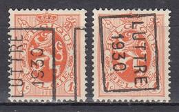 5641 Voorafstempeling Op Nr 276 - LUTTRE 1930 - Positie A&B - Rollo De Sellos 1930-..