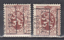 5027 Voorafstempeling Op Nr 278 - LUTTRE 1929 - Positie A&B - Rollo De Sellos 1920-29