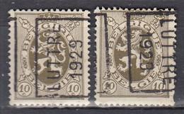 5154 Voorafstempeling Op Nr 280 - LUTTRE 1929 - Positie A&B (zie Opm) - Rollo De Sellos 1920-29