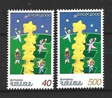 Timbre  Europa En Neuf **  Arménie N 330/331 - 2000