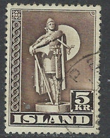 Iceland 230a Used 1947 Issue Perf 12.5 (ap7158) - Ohne Zuordnung