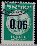 Israel 1960, New Currency, 0.06a, Used - Gebraucht (ohne Tabs)