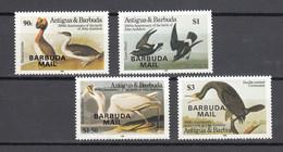 Barbuda Mail 1985,4V Inset, Audubon, Bird,birds,vogels,pajaros ,oiseaux,vögel, MNH/Postfris(A4127) - Sperlingsvögel & Singvögel