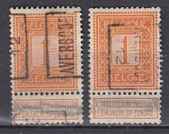 1981 Voorafstempeling Op Nr 108 - AVERBODE 12 - Positie A&B (zie Opm) - Rollo De Sellos 1910-19