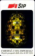 G 105 A C&C 2184 SCHEDA TELEFONICA NUOVA MAGNETIZZATA FABERGE VARIANTE OCR 17 MM - Pubbliche Speciali O Commemorative