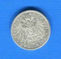 All  2  Mark  1902 - 2, 3 & 5 Mark Silber