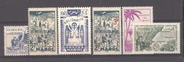 Maroc  :  Yv  223...245  **  6 Valeurs - Unused Stamps