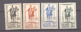 Maroc  :  Yv  241-43 +  Av 59  ** - Unused Stamps