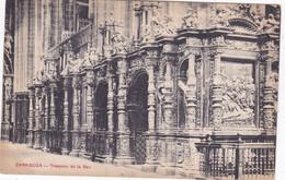 QP - ZARAGOZA - Trascoro De La Seo, Altar Mayor Del Pilar  (3 Cartes Neuf) - Zaragoza