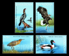 Moldova 2021 Mih. 1172/75 Fauna. Birds Of Lower Prut Nature Reserve MNH ** - Moldova