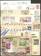 ANTARCTICA: 13 Covers Of Years 1958 To 2006, With Marks Of Antarctic Bases Of Varied Countries, Some Signed, Etc., Very  - Sin Clasificación