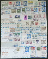 CHILEAN ANTARCTIC TERRITORY: 38 Covers Of The 1960s/70s, Apparently All Of Different Antarctic Bases And Dates, There Ar - Sin Clasificación