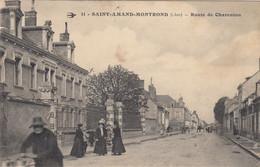 Saint-Amand-Montrond.  Route De Charenton - Saint-Amand-Montrond