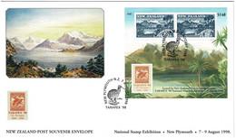 New Zealand 1998 TARAPEX '98 Exhibition Souvenir Cover - Covers & Documents