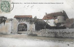 87 Hte Haute Vienne - BESSINES - CPA - La Croix Du BREUIL - Rendez-vous De Chasse D' Henri IV - - Bessines Sur Gartempe