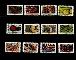 FRANCE 2020 Oblitéré : Effets Papillons - Adhésifs (autocollants)