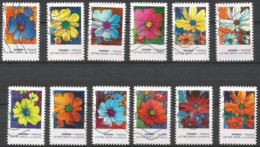 FRANCE 2020 Oblitéré : Fleurs Cosmos - Adhésifs (autocollants)