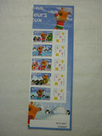 FRANCE 2007 -    5 TIMBRES ADHESIFS PERSONNALISES 3986B à 3990B UNION PHILATELIQUE DE TOURS   NEUF SANS CHARNIERE - Personalized Stamps