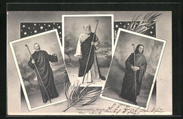 AK Selzach, Passionsspiele, Petrus, Jakobus, Johannes - SO Solothurn