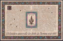 UNO GENF 1988 Mi-Nr. Block 5 ** MNH - Blocks & Kleinbögen