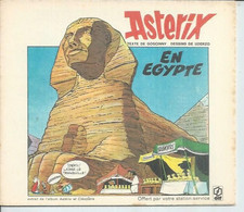 "ASTERIX "" EN EGYPTE  "" -  UDERZO / GOSCINNY - E.O.  1973 DARGAUD - Offert Par ELF - Astérix"