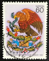 Nippon - Japan - C1/56 - (°)used - 1988 - Michel 1818 - Vriendschap En Handelsverdrag Tussen Japan-Mexico - Usados