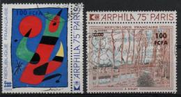 France, Réunion : N° 425 Et 426 O Oblitérés Année 1974 - Oblitérés