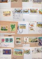 ISLE OF MAN JERSEY GUERNSEY ALDERNEY LOT DE 205 ENVELOPPES COMMERCIALES ET PREMIER JOUR FDC MAXIMUM CARD STAMP COVER - Jersey