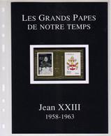 SÉRIE Les Grands Papes De Notre Temps TIMBRE EN OR  .. ... JEAN XXIII   ....... ÉTAT LUXE MNH - Papi