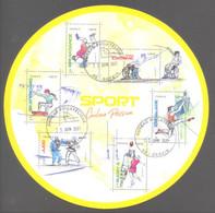 France Bloc Oblitéré (Sport Couleur Passion 2021) ( Cachet Rond) - Oblitérés