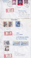 Deutschland Berlin - 3 R-Briefe Nach Luxemburg, Echt Gelaufen (8.629) - Briefe U. Dokumente
