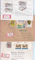 Deutschland Berlin - 3 R-Briefe Nach Luxemburg, Echt Gelaufen (8.631) - Briefe U. Dokumente