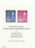 ALEMANIA ORIENTAL  YVERT  H/B 5   MNH  ** - FDC: Ersttagsblätter