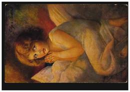 Künstler-AK Olga Von Riesen: Das Gebet, KASSA / KASCHAU 1918 - Sin Clasificación