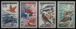 St. Pierre & Miquelon 1963 - Mi-Nr. 398-401 ** - MNH - Vögel / Birds - Ongebruikt