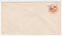 Airmail Revalued 5c Postal Stationery Letter Cover 1946 B211001 - 1941-60