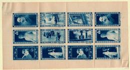 ERINOPHILIE - MAISON DE FRANCE - BLOC FEUILLET DE 12 VIGNETTES DENTELES - 1931 - Blocs & Carnets