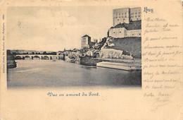 Huy - 1899 - Vue En Amont Du Pont - Ed. Félix De Ruyter - Huy