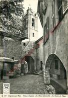 06.  CAGNES SUR MER .  Vieux Cagnes .  Place Grimaldi . Porte De Nice . - Cagnes-sur-Mer