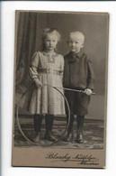 Y20142/ CDV  Kinder Mit Reif Foto Blaschy, Allenstein Ostpreußen 1911 - Non Classés