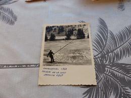 25-9 , 570 , Photo, Courchevel 1850M, Teleski , Tire-fesse De La Loze , Janvier 1958 - Lugares