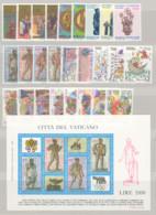 Vaticano 1987 Annata Completa/Complete Year MNH/** - Annate Complete