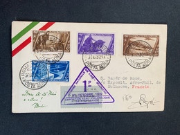 Belle Enveloppe Poste Aérienne Italie à Voir ! 23/10/32 - Lotti E Collezioni