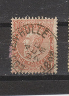 COB 57 Oblitération Centrale LOO-TEN-HULLE +15 - 1893-1900 Barbas Cortas
