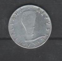 5 Lire Republica Italia 1954 - 5 Lire