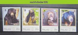 Ngh034ps FAUNA ZOOGDIEREN BEREN BEER SUN BEAR BEARS MAMMALS PALAU 2012 PF/MNH - Orsi