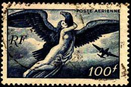 France Avion Obl Yv:18 Mi:750a Egine Enlevée Par Jupiter (Beau Cachet Rond) - 1927-1959 Usati