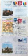Roumanie - LOT 3 LETTRES -  Bucarest - Timis - Destination Autriche / France - 1989/1990 - Usati