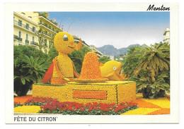 06 - MENTON - 69 ème FETE DU CITRON - Pinocchio - Ed. De L'OUSTALET N° 207 - Menton
